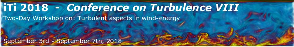 iTi Conference on Turbulence 2018